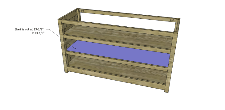 free plans to build a pier one inspired glenfield media stand_Shelf