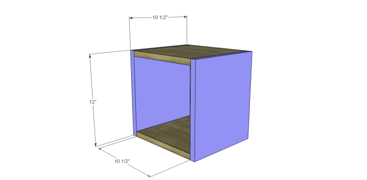 free plans to build a Williamsburg box_Sides