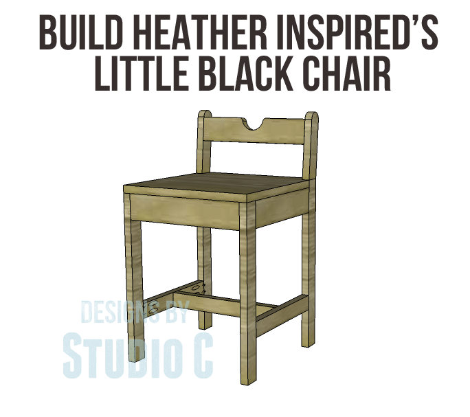 Inspire Me Heather's Little Black Chair
