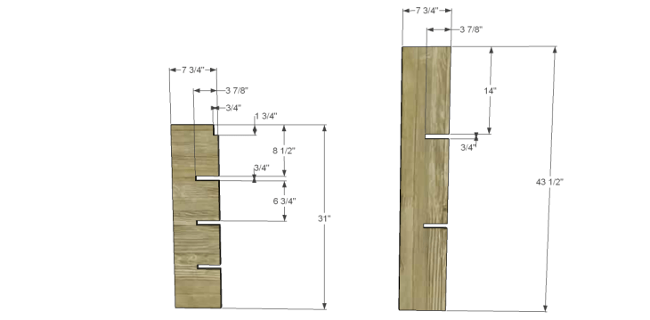 free DIY woodworking plans to build a Nantucket Chest_Dividers 1