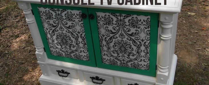 old tv cabinet