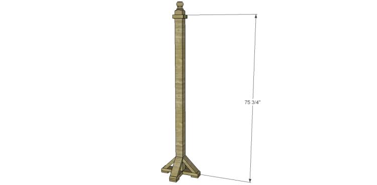 Build a Coat Rack Post