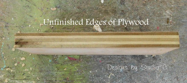 three ways to finish the edges of plywood SANY2474
