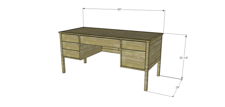 build ainsworth desk
