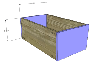 diy desk plans - ainsworth_Lg Drawer FB