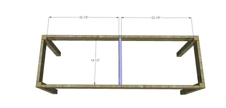 build diagonal slat bench_Support