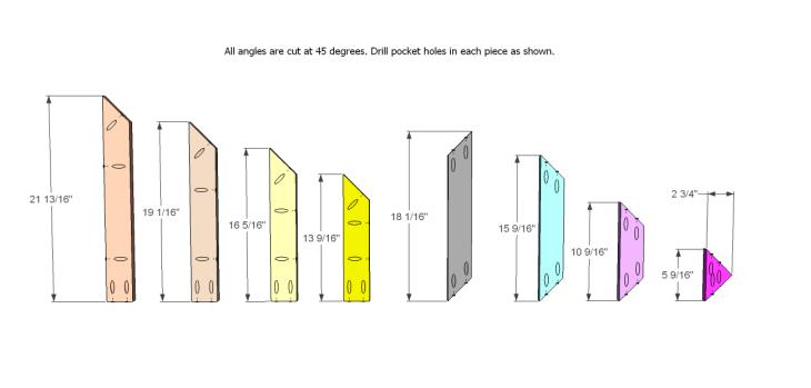 build diagonal slat bench_Top 1