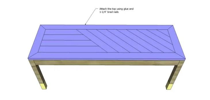 build diagonal slat bench_Top 3