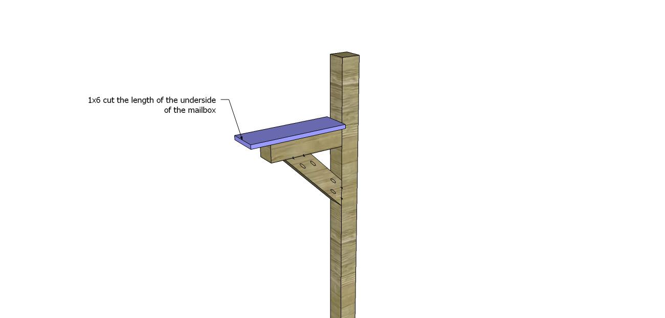 Build Mailbox Post_Shelf1
