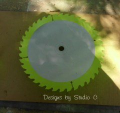 saw blade clock SANY2597
