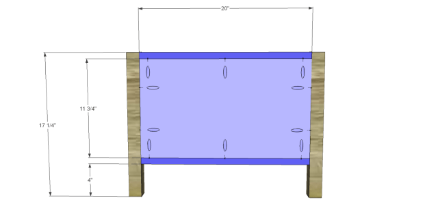 storage coffee table plans_Ends