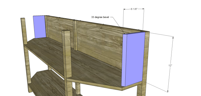 angled console table plans_Sides