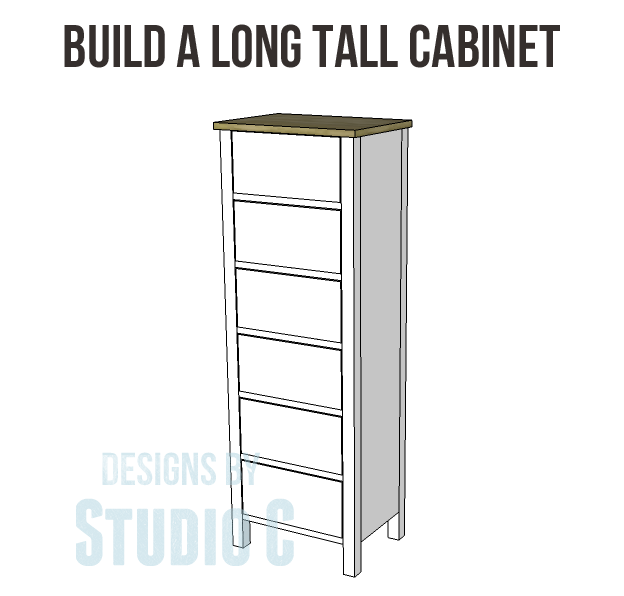 Build a Long Tall Cabinet – Designs by Studio C