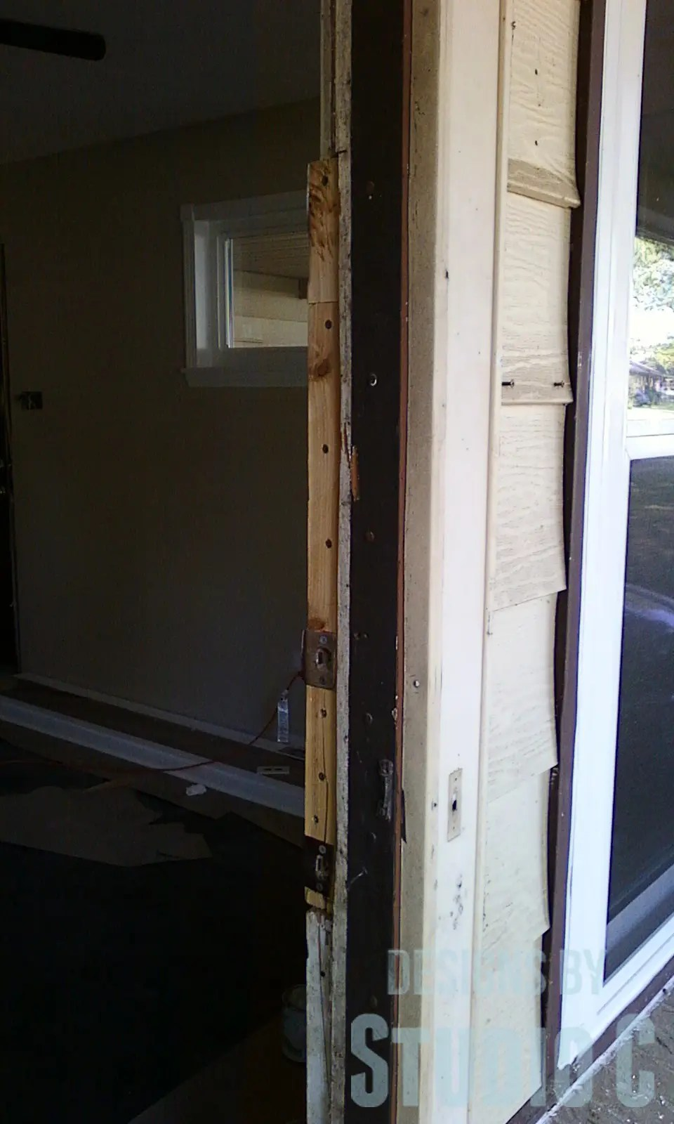 Replacing An Exterior Door