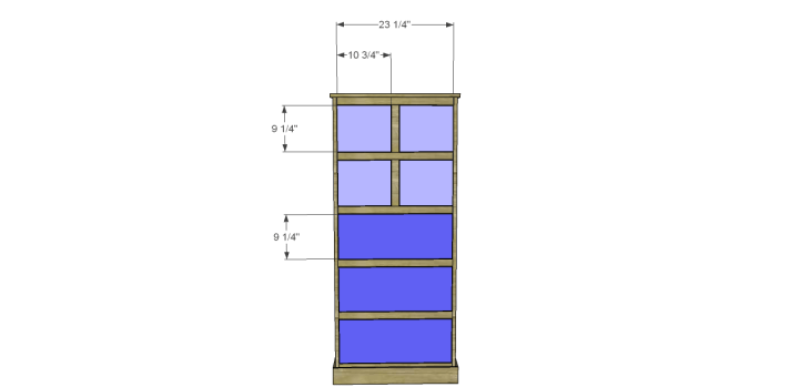 tall chest drawers plans_Drawer Fronts