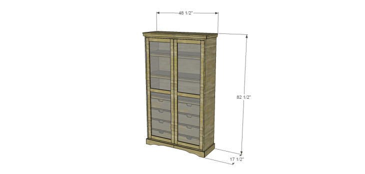 diy pantry armoire plans