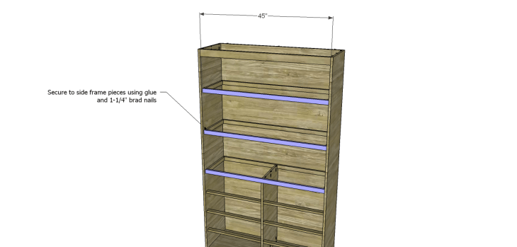 diy pantry armoire plans_Shelf Frames 3