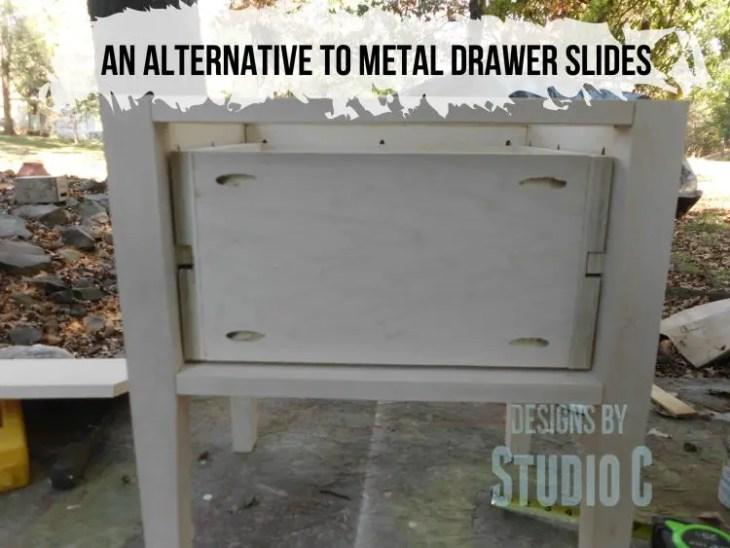 An Alternative To Metal Drawer Slides