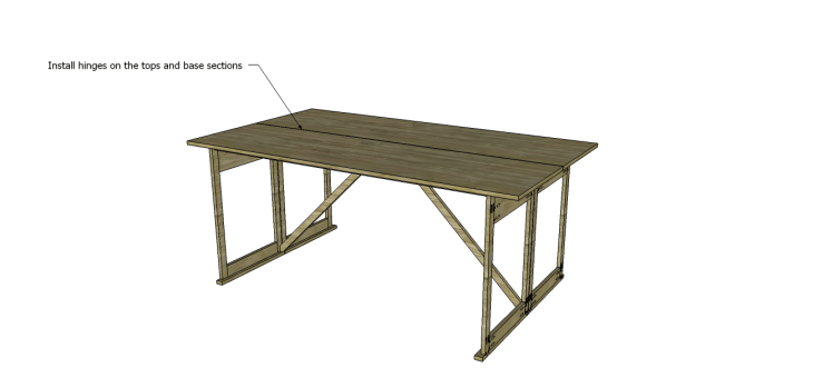 folding table plans_Hinges