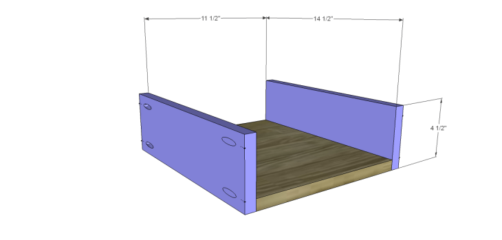 plans build large stately bookcase_DrawerBS