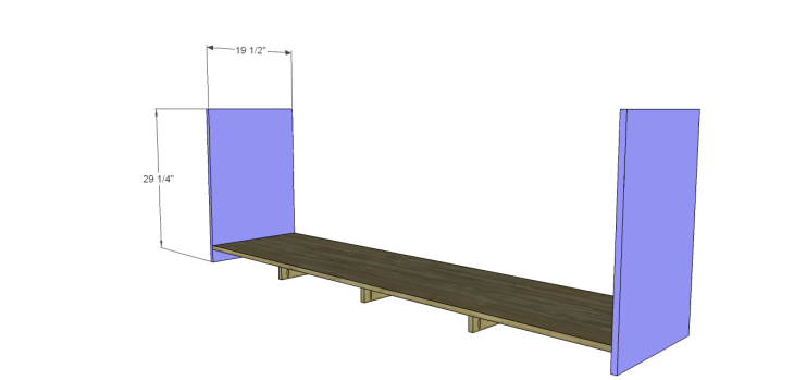plans build large stately bookcase_Lower Sides