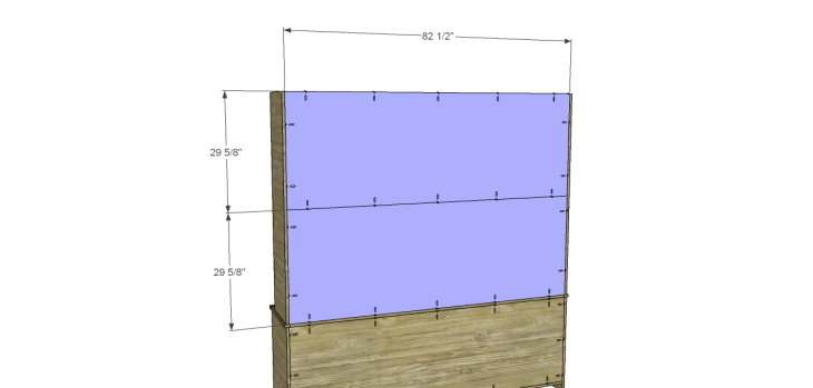 plans build large stately bookcase_Upper Back