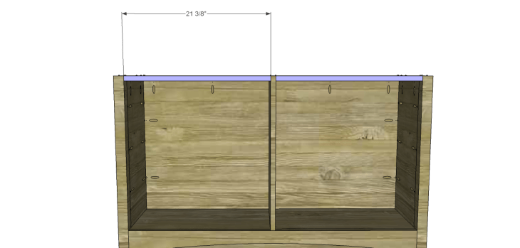 yvette console table plans_Stretchers