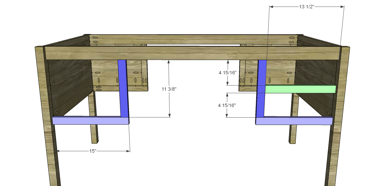 hight resolution of cut the pieces for the front frames noting that the left side will differ from the right side assemble as shown then secure tot he legs using glue and