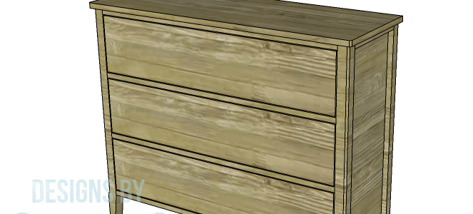 Add These Diy Three Drawer Dresser Plans To Your Organizational To Do List