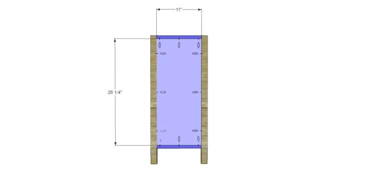 diy three-drawer dresser plans_Sides