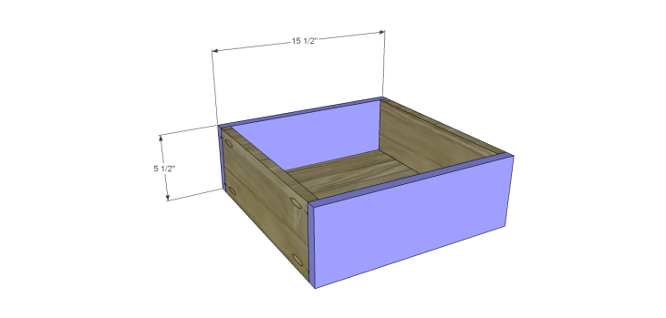 hite bedside table plans_Drawer FB