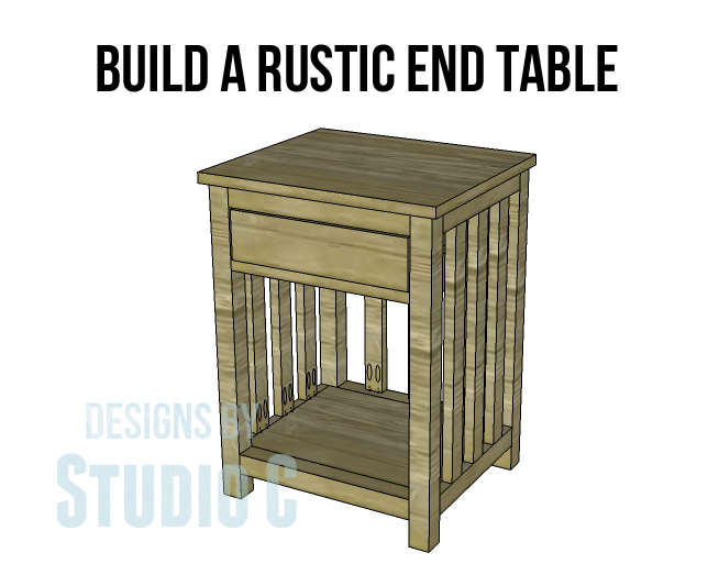 The Samanea Rustic End Table Plans U2013 The Key To A Gorgeous Piece Of Style!
