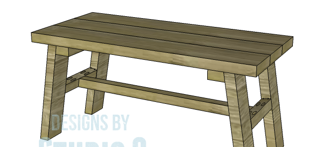 Build a rustic bench free furniture plans to build a rustic bench malvernweather Images
