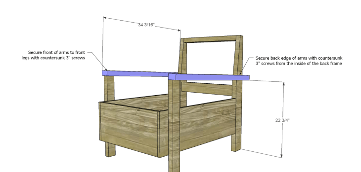 kate chair plans_Arms