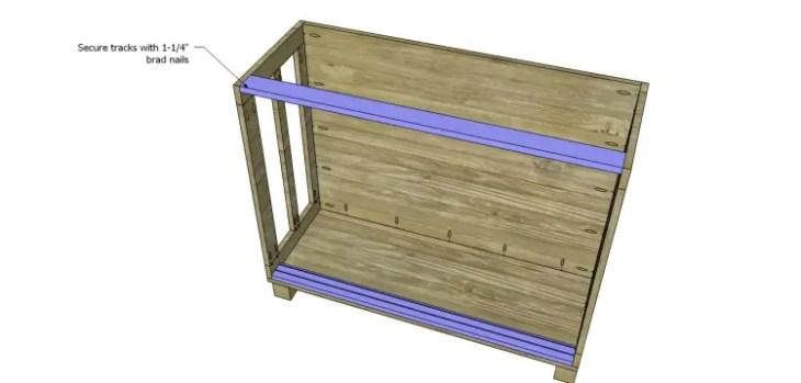 free furniture plans build pacific kitchen island_Door Tracks 2