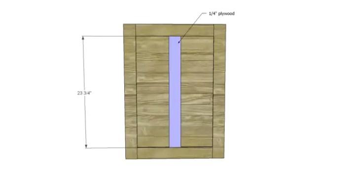 free furniture plans build pacific kitchen island_Doors2