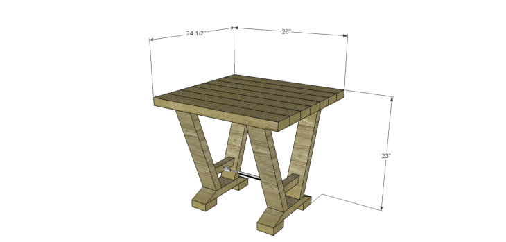 astor end table plans