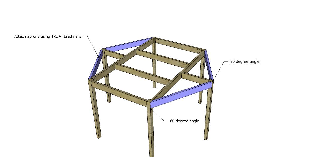 Build A Hexagon Table