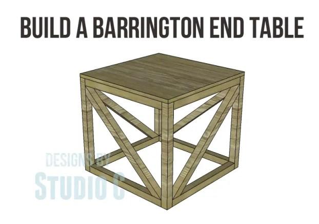 free furniture plans build barrington end table_Copy