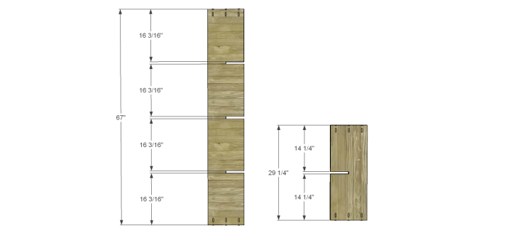 cascade bookcase plans_Large Dividers 1