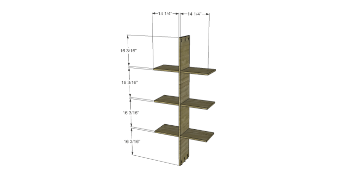 cascade bookcase plans_Large Dividers 2