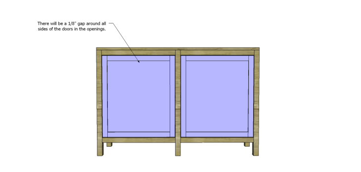 roxbury sideboard plans_Doors2