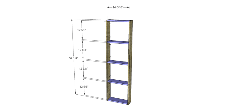 plans build alans larder cabinet_Doors1