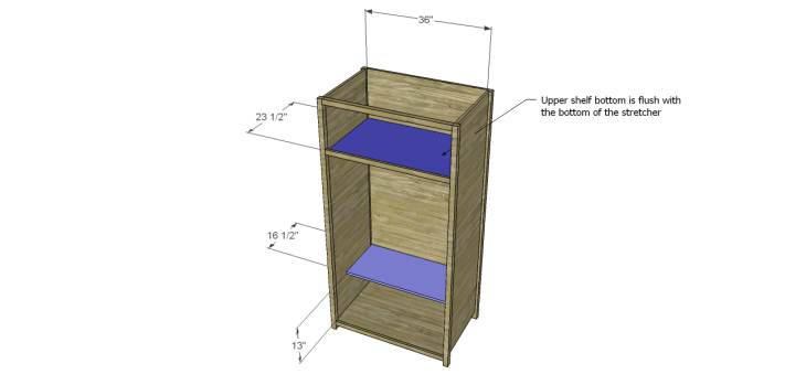 plans build alans larder cabinet_Shelves
