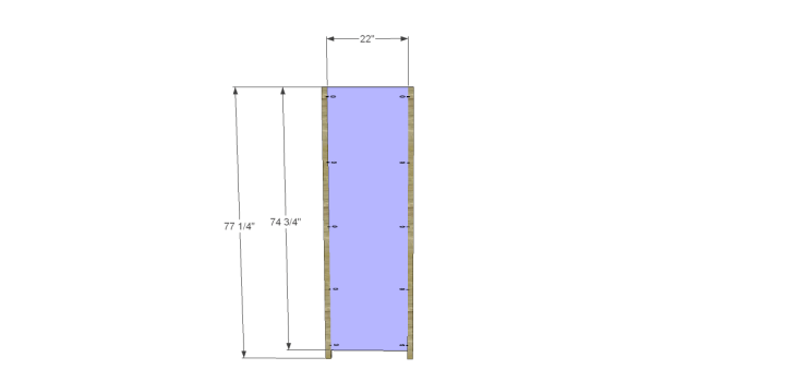 plans build alans larder cabinet_Sides