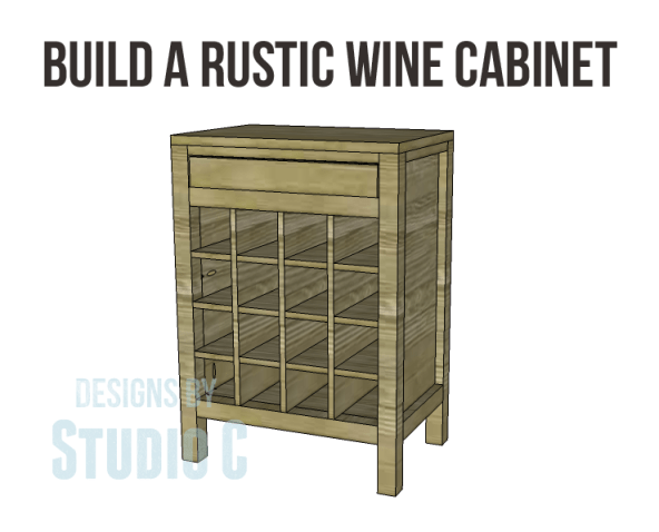 rustic wine cabinet plans-Copy