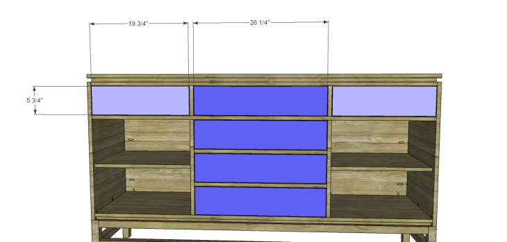plans build esmerelda buffet-Drawers