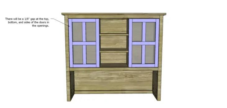 plans build ronen hutch-Doors 3