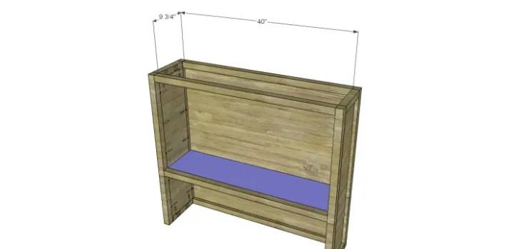 plans build ronen hutch-Shelf