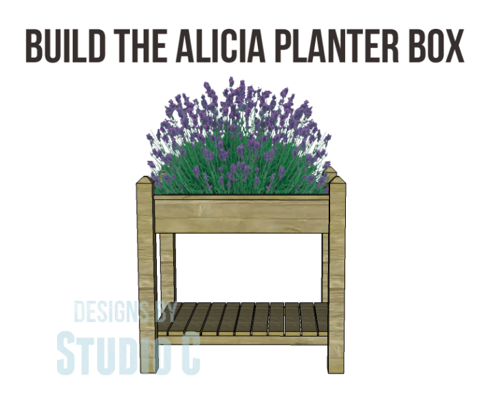 Collection of DIY Plans to Build Planter Boxes_Alicia Planter Boxes